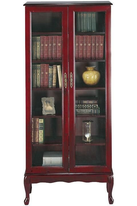 25 best ideas about bookcase with glass doors on for Glass bookcase ikea