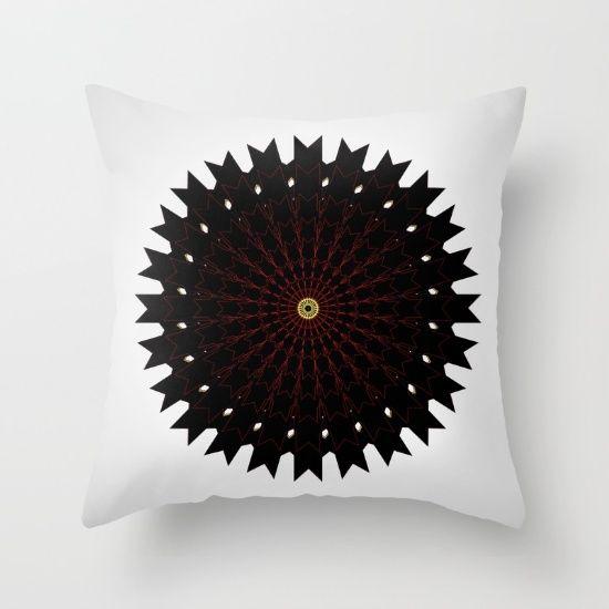 Throw Pillow, pattern, mandala