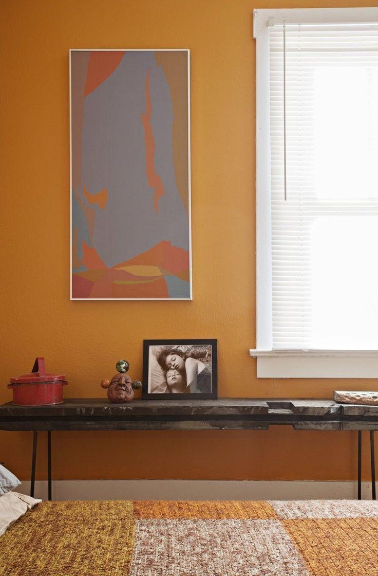 A Southwest Modern Arizona Abode Apartment Paintinghouse Paintingbedroom Wall Lightscaramel Colorstylish
