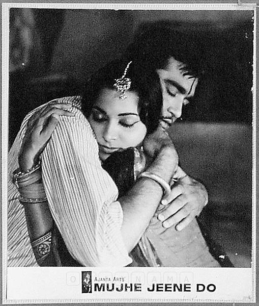 "simplicitylovebeauty: ""Sunil Dutt and Waheeda Rehman in 'Mujhe Jeene Do' 1963. """