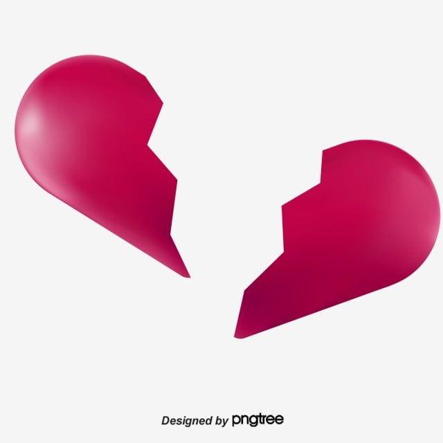 Broken Heart Vector And Png Clip Art Medical Theme Heart Poster