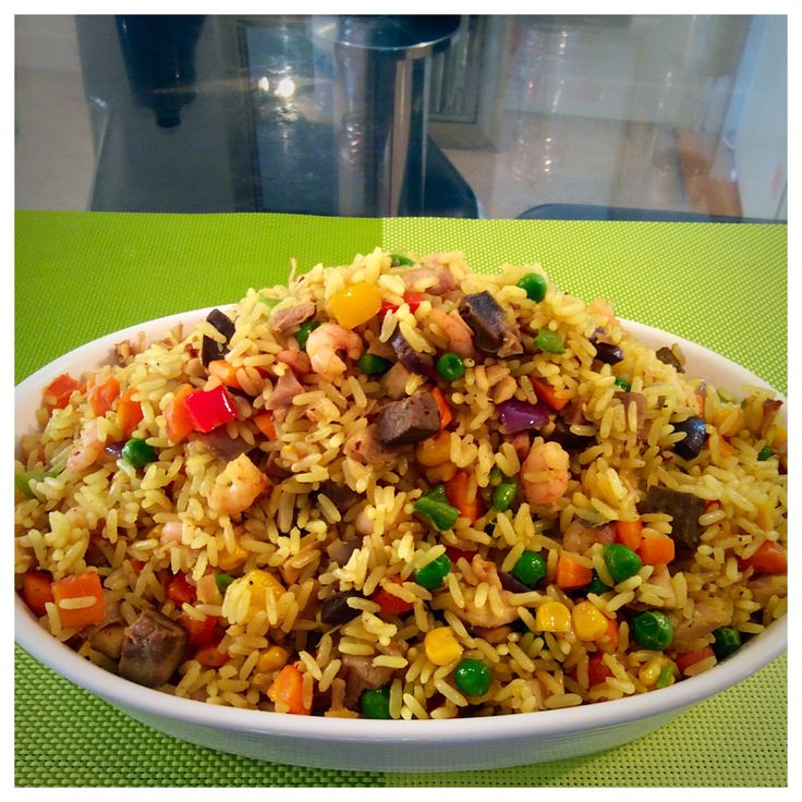 Nigerian fried rice                                                                                                                                                                                 More