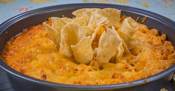 What's better than hot wings on game day? This dip!!