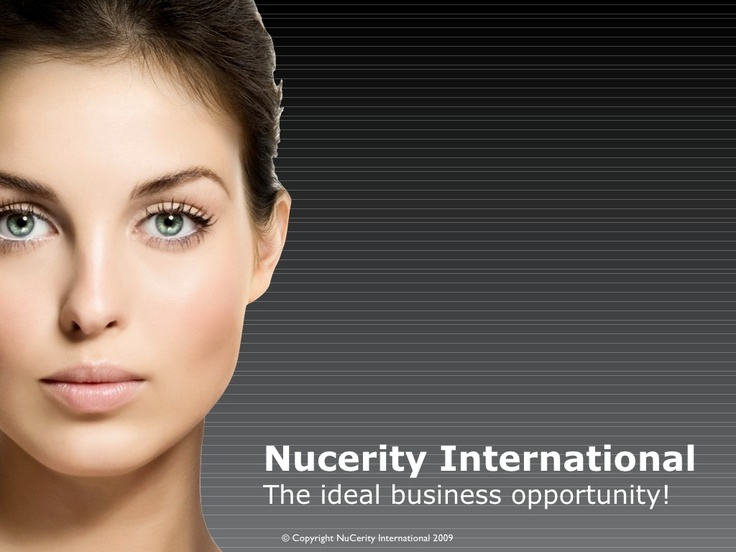 nucerity-international-prelaunch-opportunity by NuCERITY International via Slideshare