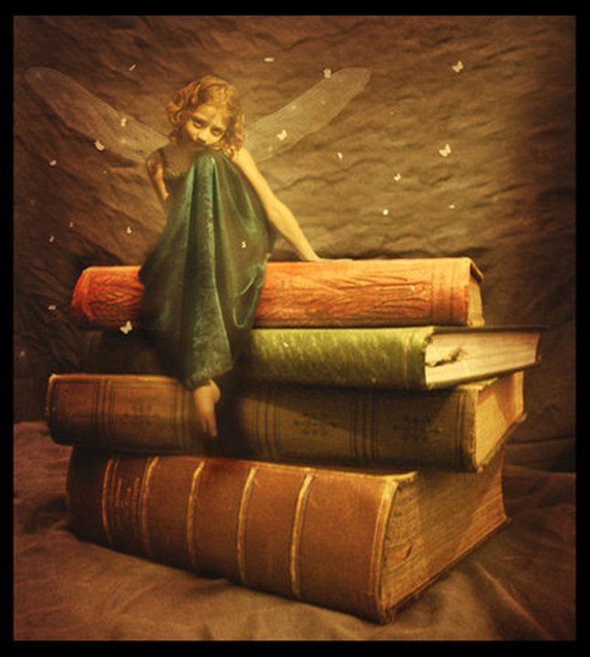 """Book Fairy...love this ✮✮""""Feel free to share on Pinterest"""" ♥ღ www.fairytales4kids.com"""