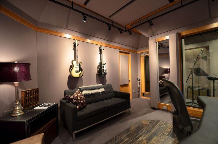 Recording Studio Wall Design