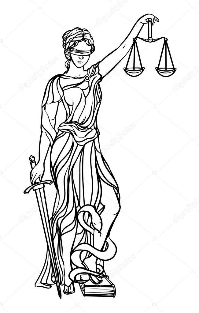 Themis Tatoo God Justice Tattoo Goddess Tattoo Lady Justice