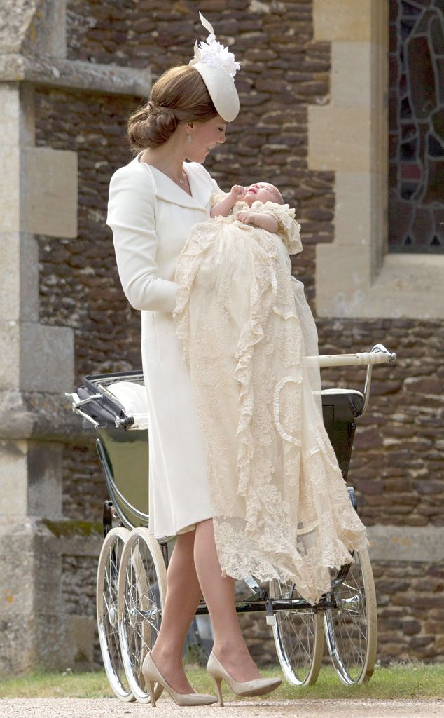 Princess Charlotte's Christening: Details About Her Royal Christening Gown, Which May Look Familiar! | E! Online Mobile