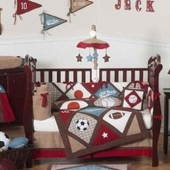 All Star Crib Bedding Set