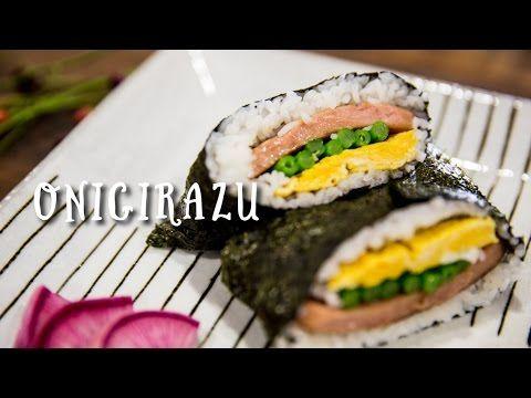 "Do you like Onigiri? How about Onigirazu?! ""Sushi Sandwich"""