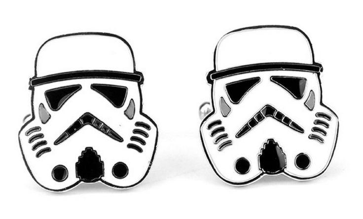 Star Wars StormTrooper Cosplay Cufflinks Manschettenknöpfe + Geschenkkarton: Amazon.de: Schmuck