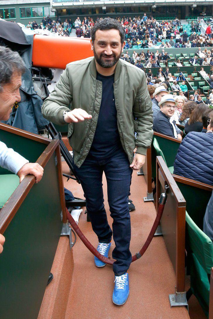 Pin for Later: Quand les Stars Se Rendent à Roland Garros Cyril Hanouna
