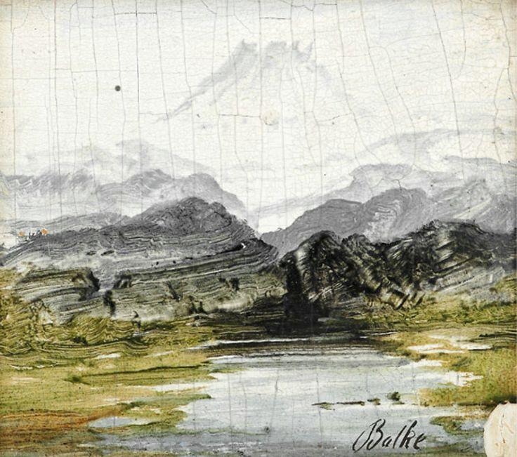 Peder Balke, Fjelllandskap, Gaustatoppen (n.d.