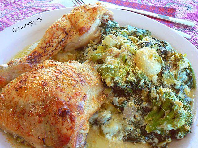 Kitchen Stori.es: Κοτόπουλο με Σπανάκι Low Carb