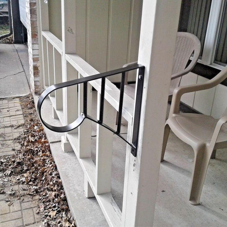 New Grab Support WROUGHT IRON HAND RAILING WALL MOUNT