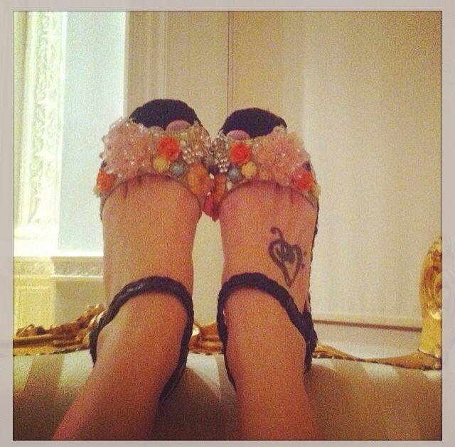 Cutiepiemarzia Foot Tattoo My all time favourite ...
