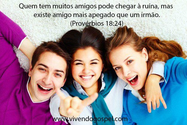 Versículos sobre amizade - Mensagem de amizade -Vivendo Gospel