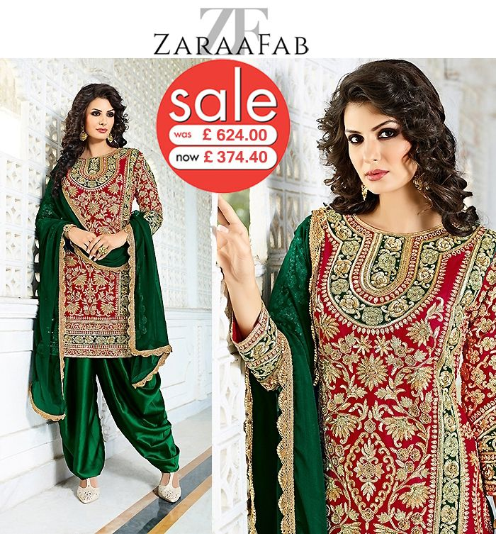 Buy heavy hand work salwar kameez online at affordable price in UK. Zaraafab offers extensive collection of latest heavy embroidered hand work designer suits in various designs.  #salwarkameez #onlineshop #weddingseason #traditionalwear #freeshipping #handworksuits #embroiderydesigns