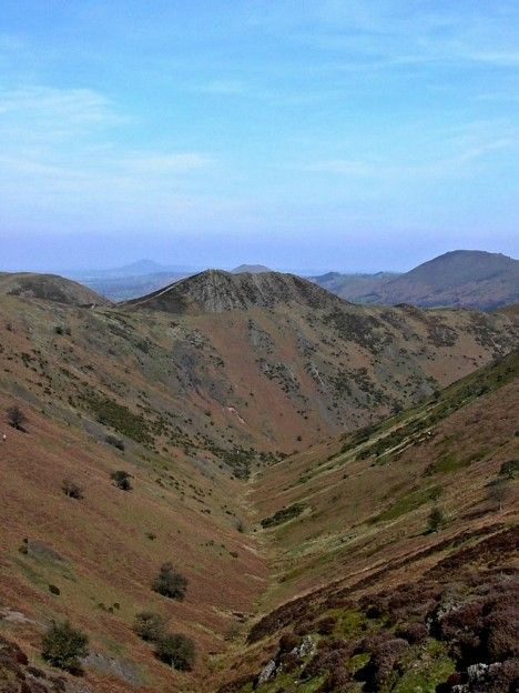 Townbrook Valley in the Long Mynd, Shropshire Hills