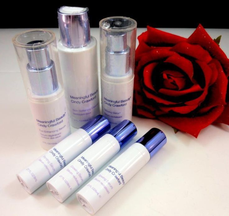 Cindy Crawford Meaningful Beauty Skin Care Mixed Lot of 6 Anti Aging Products #MeaningfulBeauty