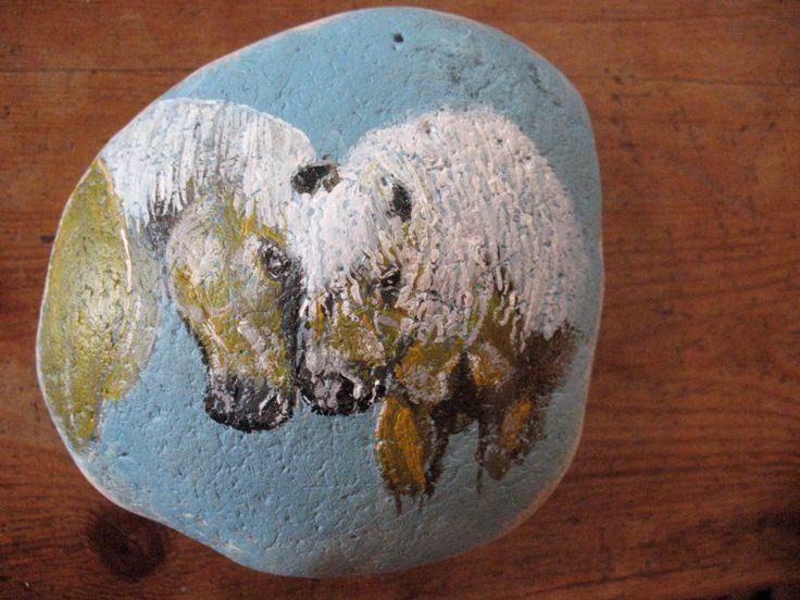 Kunst op steen