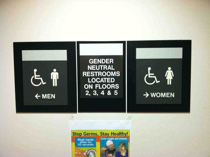 Best Transgender Bathroom Sign Ideas On Pinterest Pictures - All gender bathroom sign for bathroom decor ideas