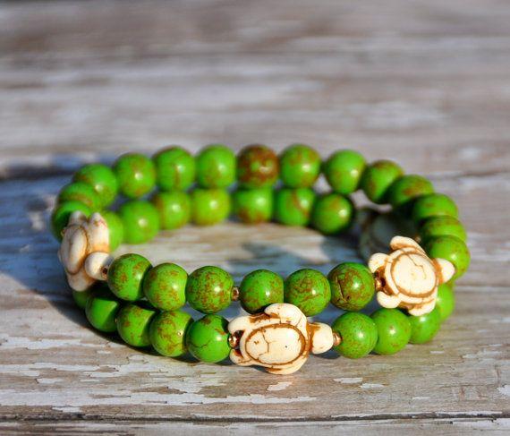Summer Sea Turtle Bracelets