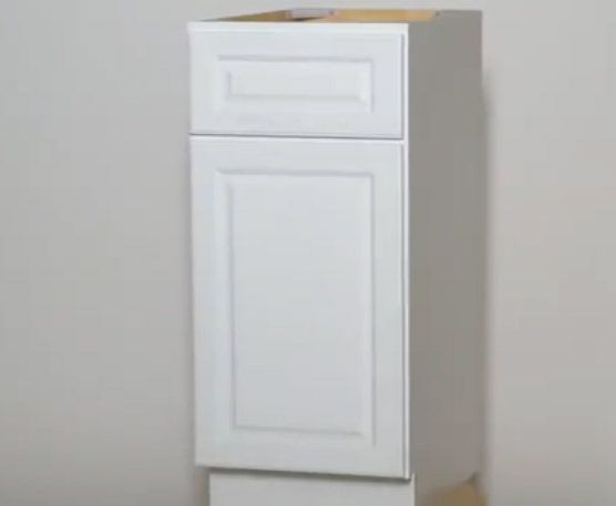 Key Largo White RTA Kitchen Cabinets New Arrival White Cabinets for Sale