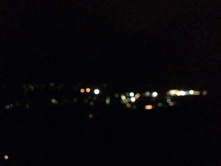 town lights at nights