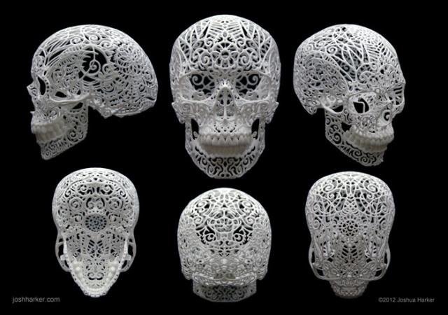 3d printed skulls