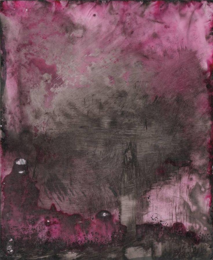 "Saatchi Art Artist Sarah Baldwin; Drawing, ""red maple swamp"" #art"
