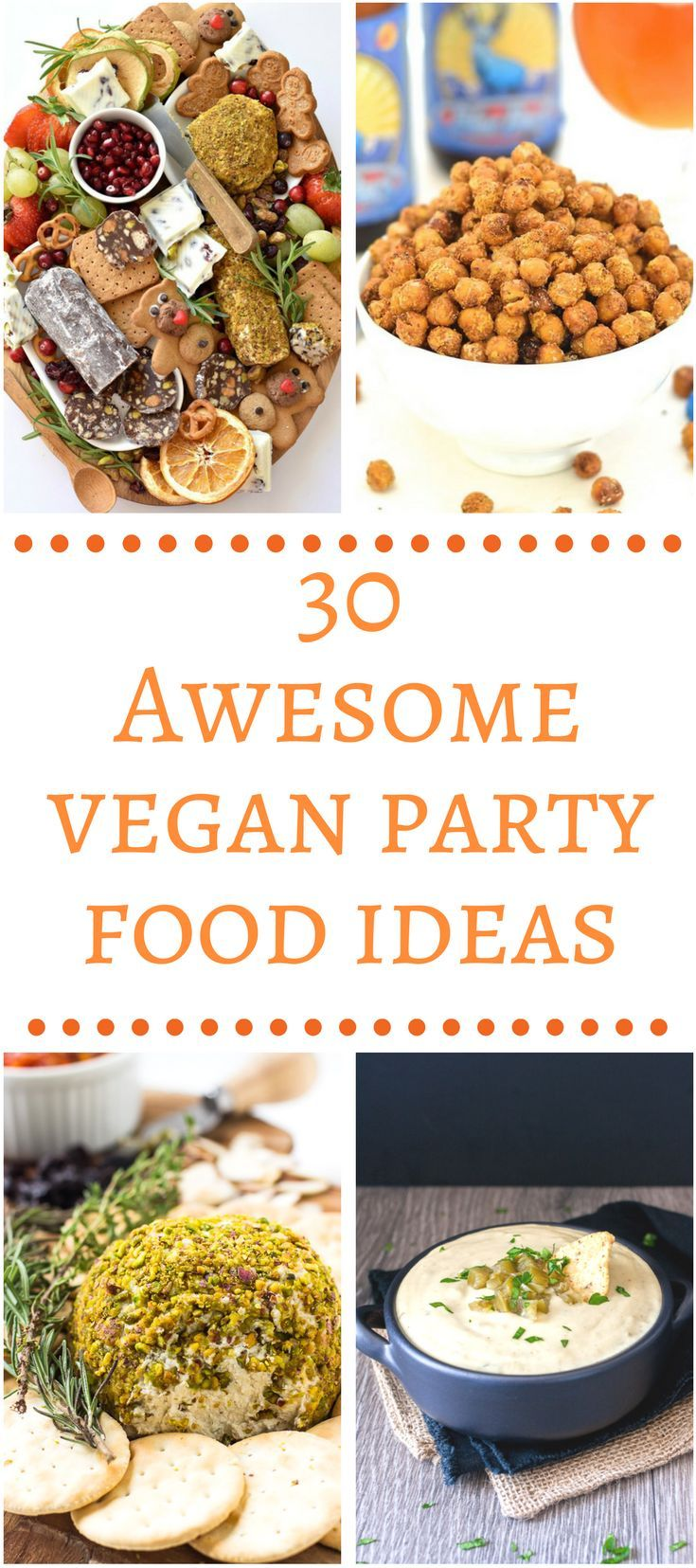 A good party or get together needs great food! This collection of Awesome Vegan Party Food Ideas is sure to impress your guests.