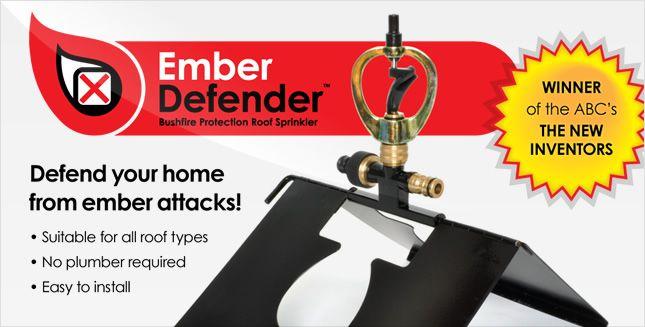 Bushfire Protection Sprinkler - Ember Defender™ Roof Mounted Sprinkler System