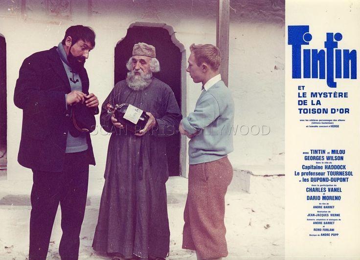 JEAN-PIERRE TALBOT TINTIN ET LE MYSTERE DE LA TOISON D OR 1961 PHOTO ORIGINAL #9