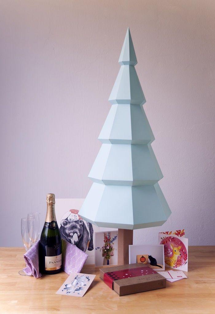 Arbre-noel-papier-craft-origami-assembli-les-esthetes
