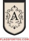 "Monogram ""A"" Estate Flag - 2 left"