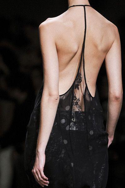 Haider Ackermann Spring 2013 Ladies / women styles fashion. Nice back of a lady wear! Sexy! Love!!