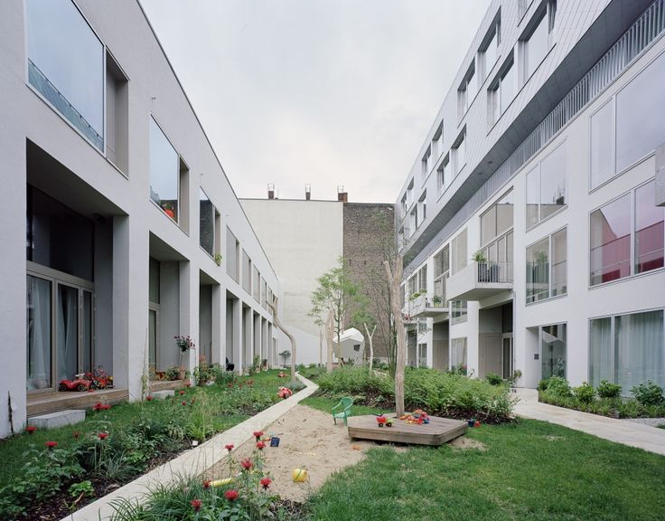 Bigyard ze5 baugruppe zanderroth architekten housing pinterest berlin - Architekten deutschland ...