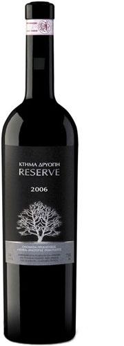 Driopi Rererve  Origin - Type: Dry red wine - Protected Designation of Origin Nemea  Grape Variety: 100% Agiorgitiko - Our price, DKK 162 (incl. moms)