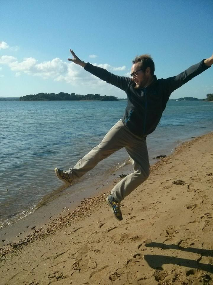 """""""My beautiful Po-Zu shoes giving me a lift on Brownsea Island in the autumn sunshine."""" - James Light"""