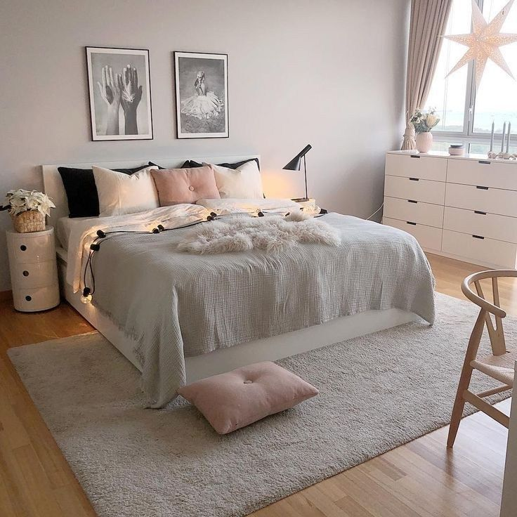 55 hübsche rosa Schlafzimmerideen für Ihre schöne Tochter 49