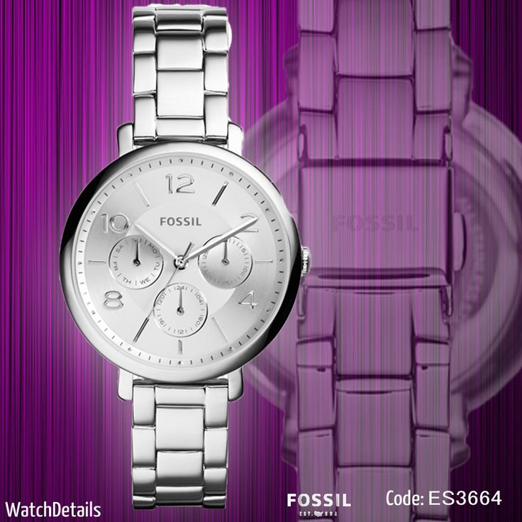 Check Out Modern Jacqueline Multifunction Stainless Steel Watch http://goo.gl/96CWjA #fashion #style #women #watch #watches #shopping