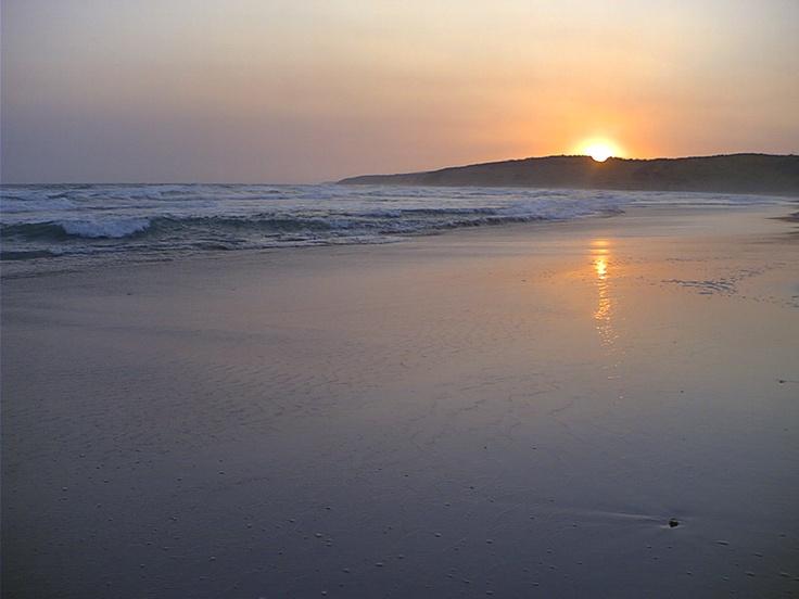 Sun Set Jan Juc Beach Australia