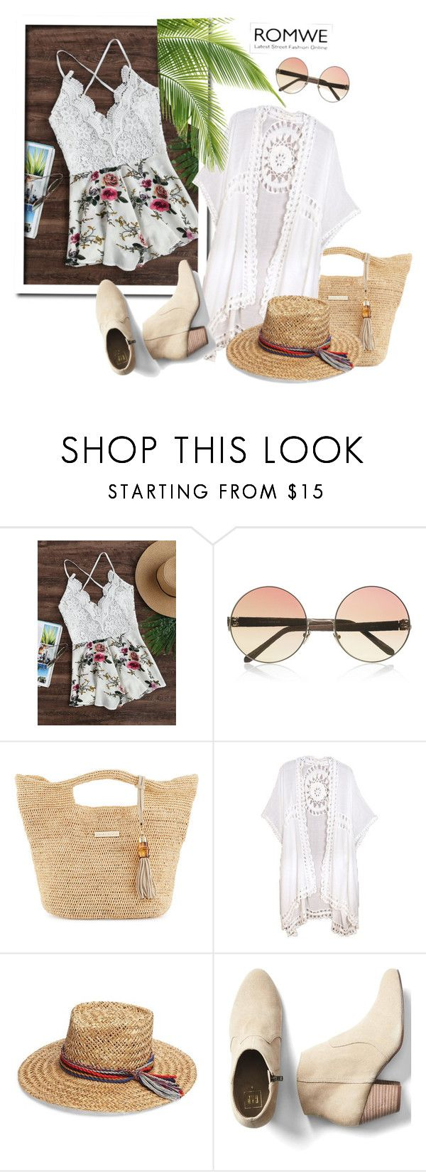 """ROMWE"" by tattooedmum on Polyvore featuring Linda Farrow, Heidi Klein, Do Everything In Love, Inverni and Gap"