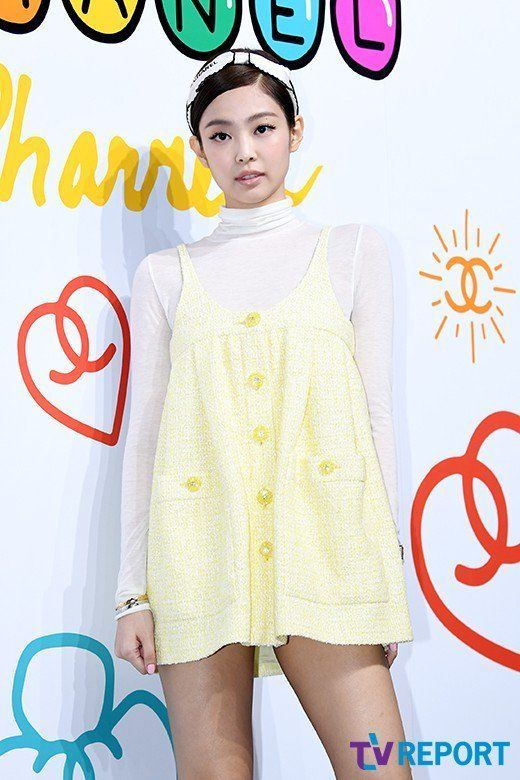 4c4afc4d81b67 Jennie at CHANEL Pharrell Williams Capsule Collection Launch Event ...
