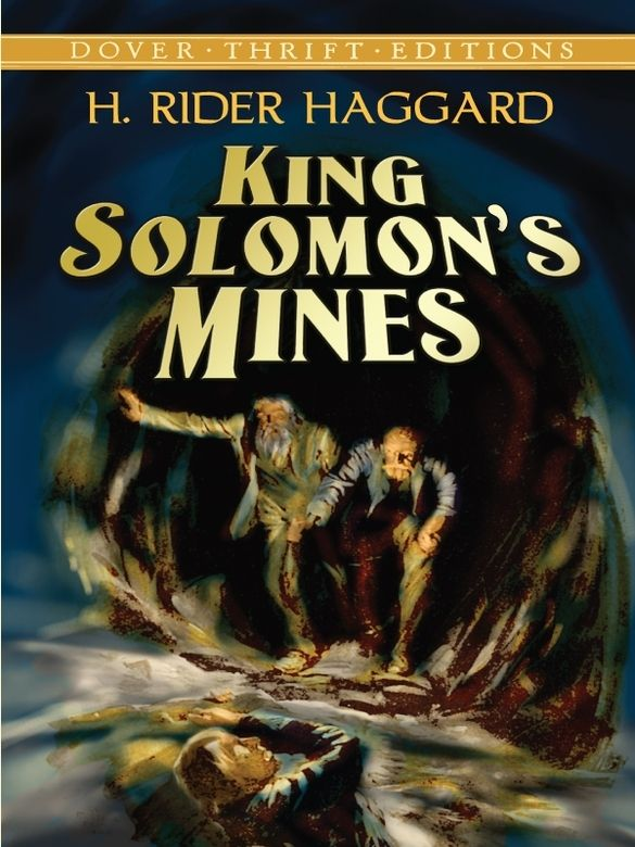 King Solomon's Mines by H. Rider Haggard  'A peculiarly thrilling and vigorous tale of adventure.'—Andrew Lang 'It goes and it grips and it moves with all the freshness of youth.'—Rudyard KiplingWhen Robert Louis Stevenson's Treasure Island was first published, H. Rider Haggard made a five-shilling bet that he could write a better adventure tale. In 1885, he created King Solomon's Mines, a story in which Allan Quatermain, a... #classiclit #doverthrift #classiclit ...