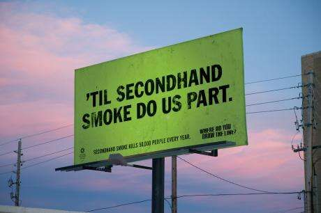 second hand smoking thesis statement Writing a thesis a thesis statement identifies the main idea of examples of effective thesis statements: because second-hand smoke poses danger to school-age.