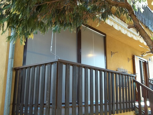 Tenda veranda invernale ermetica con frangivento e tessuto VINITEX retinato antingiallimento Torino www.mftendedasoletorino (12)