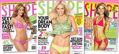 Gratis unb año de subcripción a la revista Shape Magazine