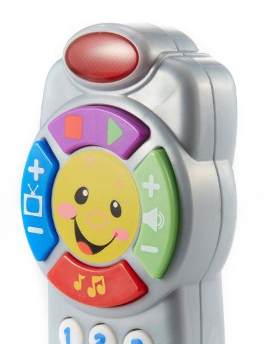 Fisher-Price Laugh  Learn Click n Learn Remote | http://Multicitytoys.com List Price: $10.99 Discount: $1.00 Sale Price: $9.99 http://bestcheapbabystuff.com/fisher-price-laugh-and-learn/fisher-price-laugh-learn-click-n-learn-remote-review/